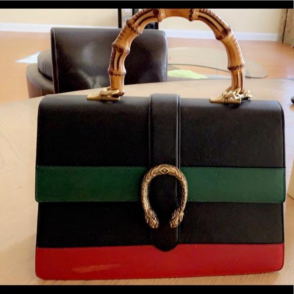Gucci Handbags - GUCCI Dionysus Medium Top Handle Bag!!